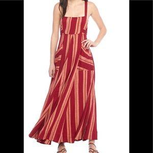 Chante Cotton Crisscross Maxi Dress
